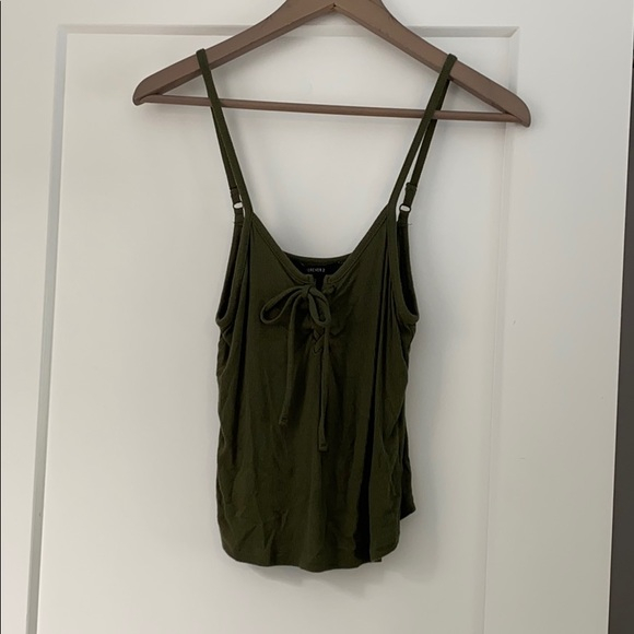 Forever 21 Tie Up Tank Top